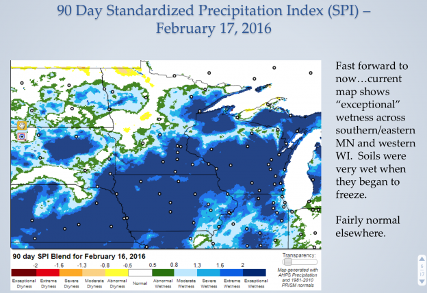90 day standardized precipitation index february 17, 2016